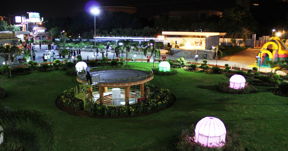 NIGHT BAZAAR AT SHILPARAMAM